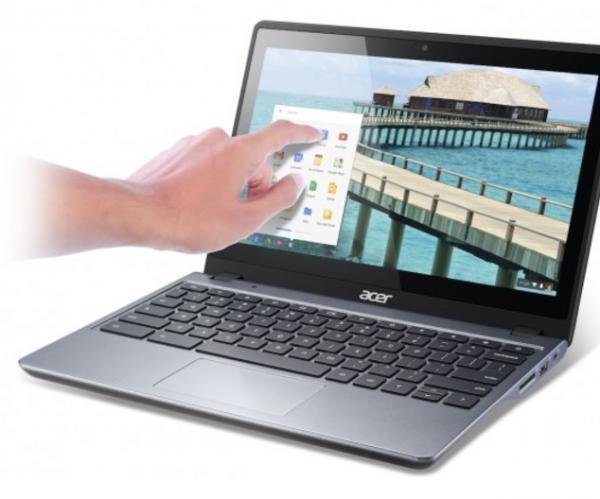 Apps for Touchscreen Chromebooks