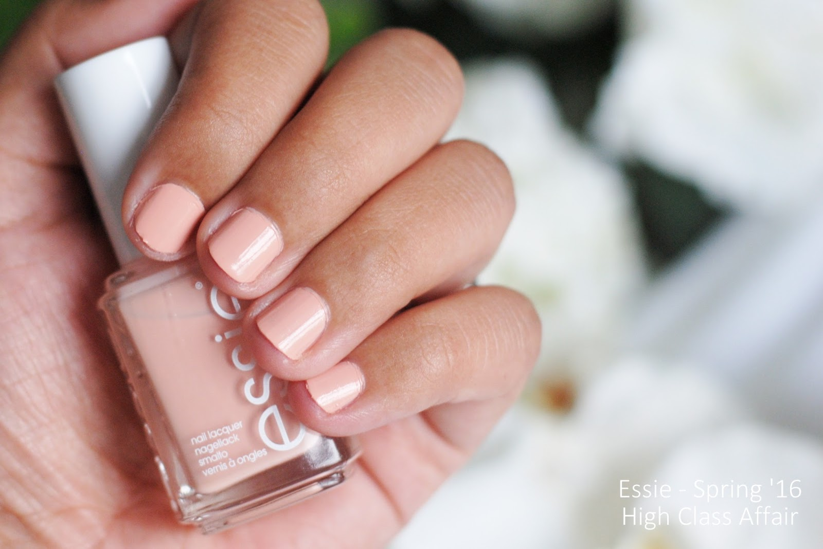 essie high class affair swatches