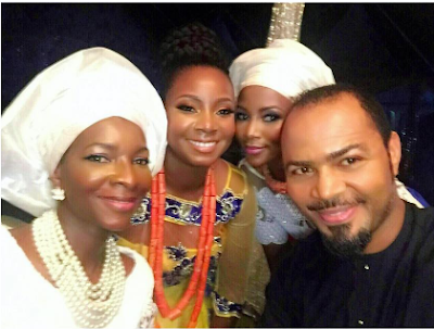FAMOUS NOLLYWOOD ACTRESS GENEVIEVE NNAJI'S YOUNGER SISTER WEDS – SEE WHAT THE ACTRESS DID (PHOTOS)