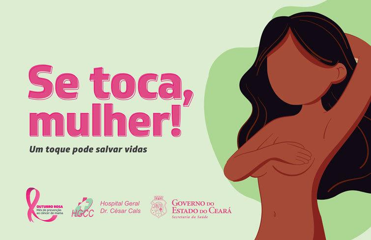 Hospital César Cals no Ceará realiza mamografias em colaboradoras