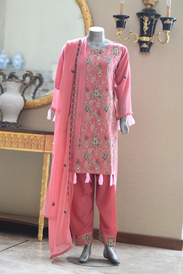 Buy Online Party Wear Designer Suits Pakistani