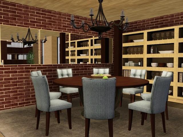 salle à manger originale sims 3