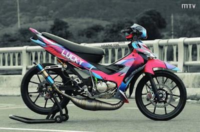 Modifikasi Motor Jupiter Z Racing