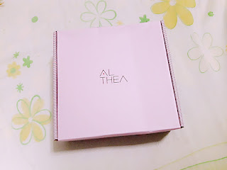 haul unboxing althea pink box