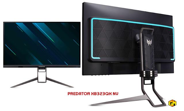 Acer Predator XB323QK NV Gaming Monitor Gizmo Manila