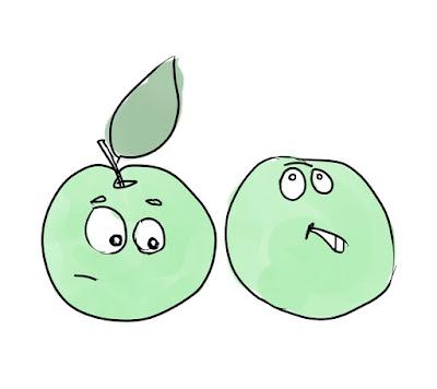 Эвелина Васильева. Зелёные яблоки