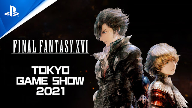 final fantasy 16 no trailer tokyo game show 2021 action role-playing game square enix playstation 5 ff 16 producer naoki yoshida clive and joshua rosfield