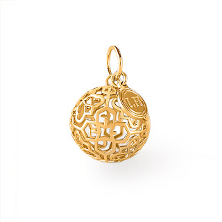 Lisa Hoffman for Origami Owl Gold Fragrance Pendant available at Storied Charms.com