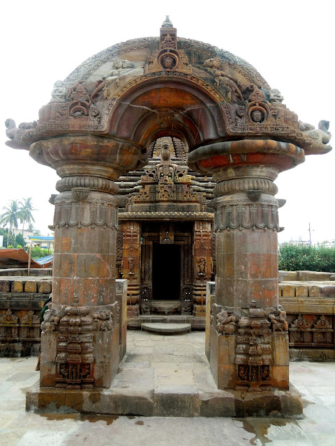 "The arched ""torana"" or gateway of the Mukteshwar Temple, Bhubaneshwar"