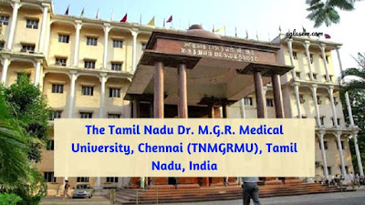 DR MGR Medical University Chennai
