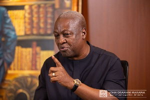 NDC reportedly rejects Mahama's choice for running mate - Ghana
