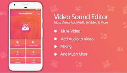 تطبيق Video Sound Editor