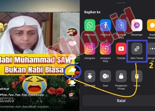download video tanpa watermark di snack video dan tiktok