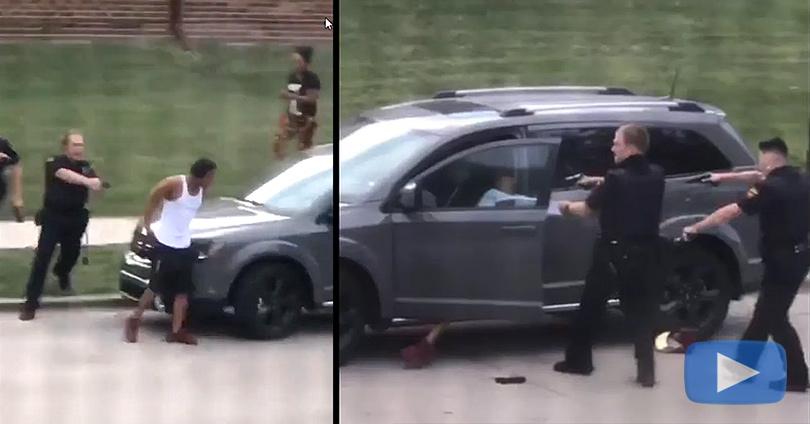 Αστυνομικός Πυροβόλησε Μαύρο Άνδρα στο Ουισκόνσιν των ΗΠΑ
