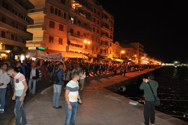Αναβρασμός στην Χίο για το μεταναστευτικό, οργή των αστυνομικών