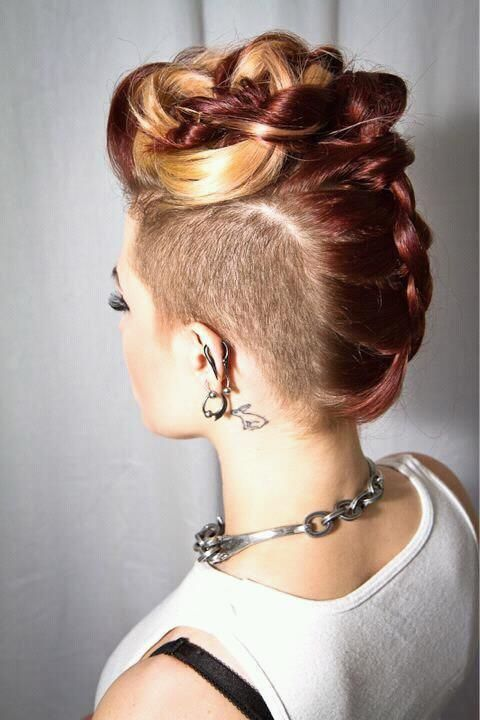 Faux Mohawks For Formal Hairstyles The Haircut Web
