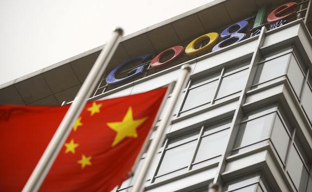 Proyek Mesin Pencari Google Dragonfly di Cina