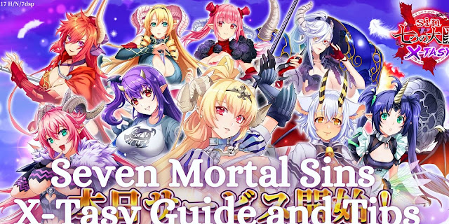 Sin Seven Deadly Sins X-TASY - Tier List, Reroll, Guide and Tips