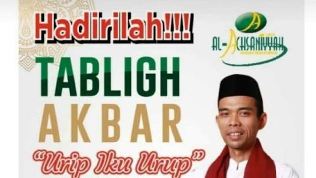 Kata Polisi soal Batalnya Ustaz Abdul Somad Isi Tablig Akbar di Kudus