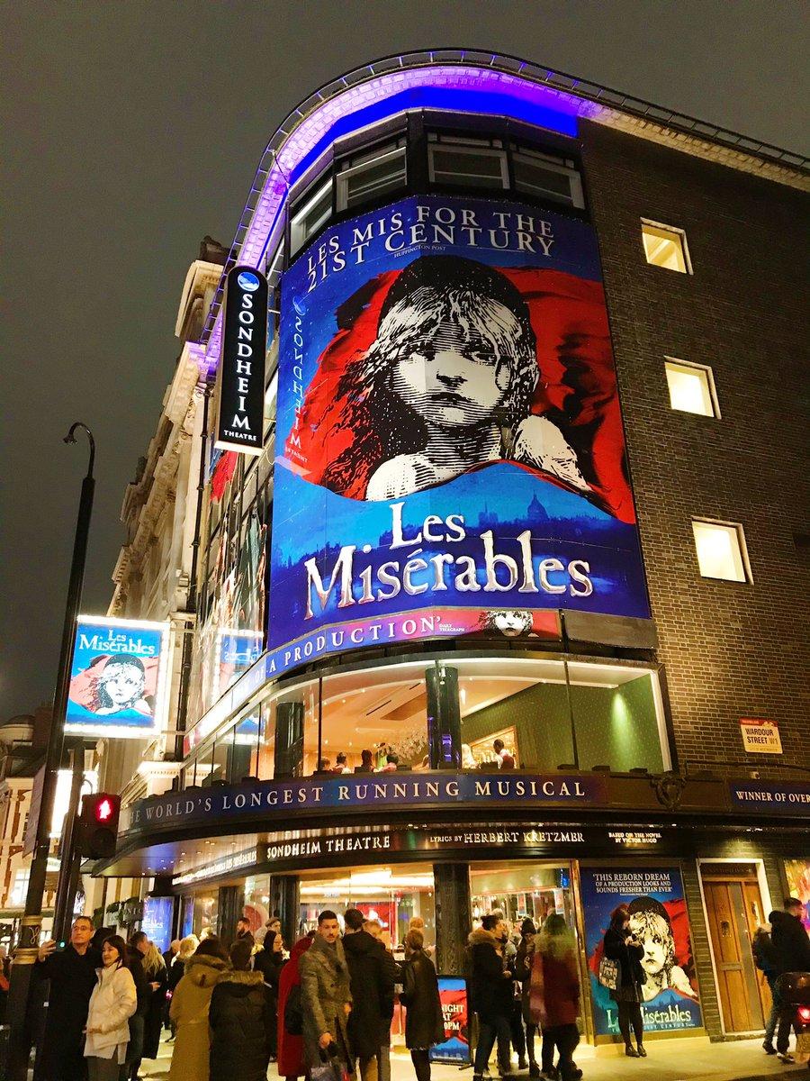 Les Miserables at the Sondheim Theatre