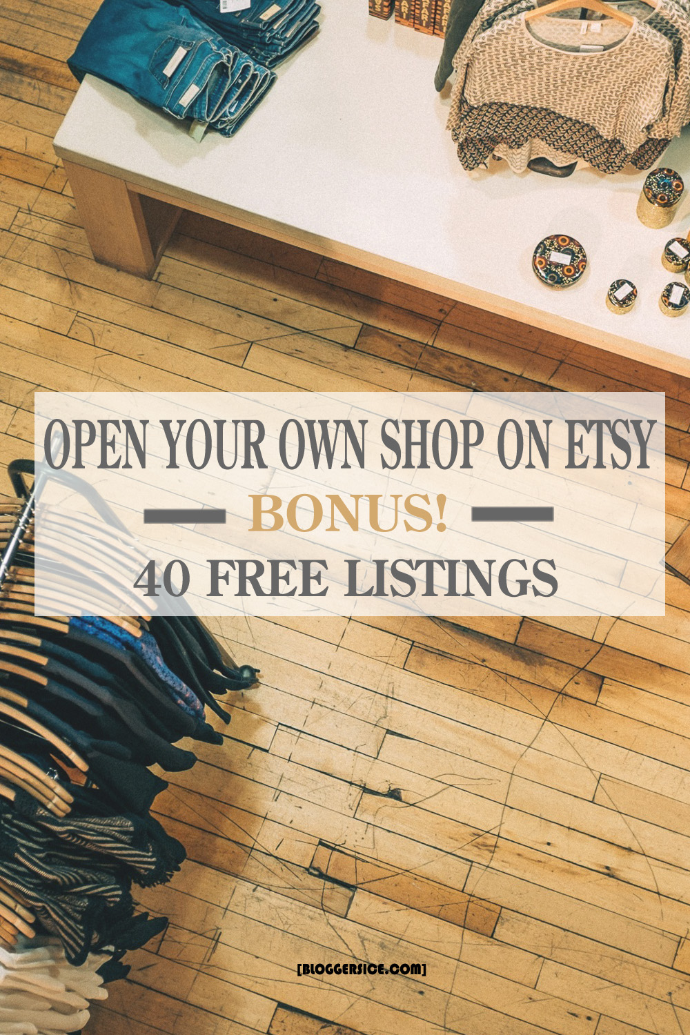 Why and How to Open Your Own Shop on Etsy? Bonus! 40 Free Listings.