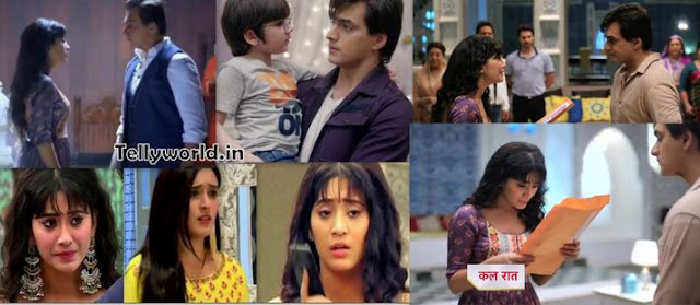 "Kartik to Get Kairav's Custody Naira will be Heartbroken Vedika will be Scare "" Yeh Rishta Kya Kehlata Hai Episode Spoiler Written Update."""