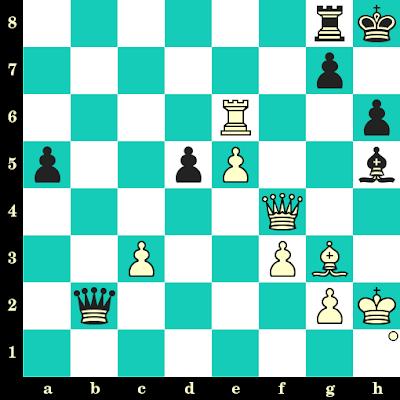 Les Blancs jouent et matent en 2 coups - Badr-Eddine Khelfallah vs Euler da Costa Moreira, Khanty Mansyisk, 2010