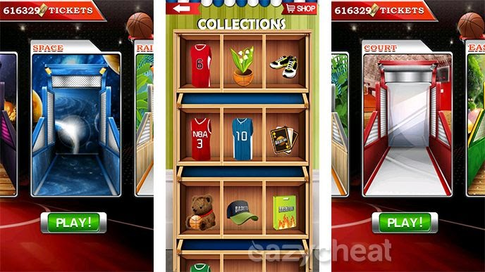 Basketball Mania Cheats