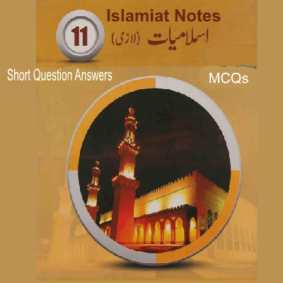 1st Year Islamic Studies Chapter Wise Notes Download - Easy MCQs