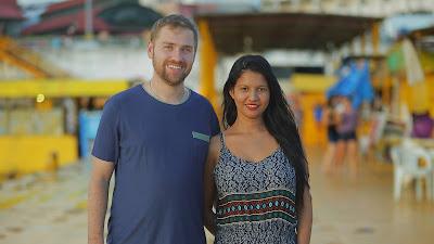 História da brasileira Karine Martins e americano Paul Staehle é retomada: ele volta ao Brasil decidido a casar-se com ela - Divulgação