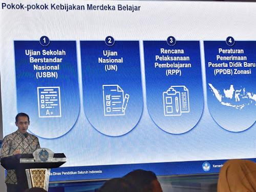 Kebijakan baru Pendidikan Indonesia 2021