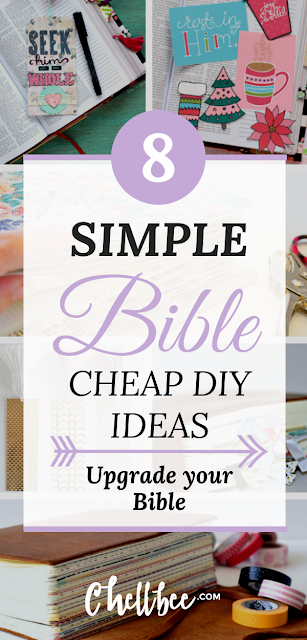 Bible | These simple Bible journaling hacks will transform your Bible time. bible journaling ideas | spiritual growth | bible journaling supplies | bible tabs | bible bookmarks diy | bible study printables #biblejournaling #bible #biblestudy
