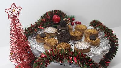 Mantecados de galleta oreo - Duces de navidad