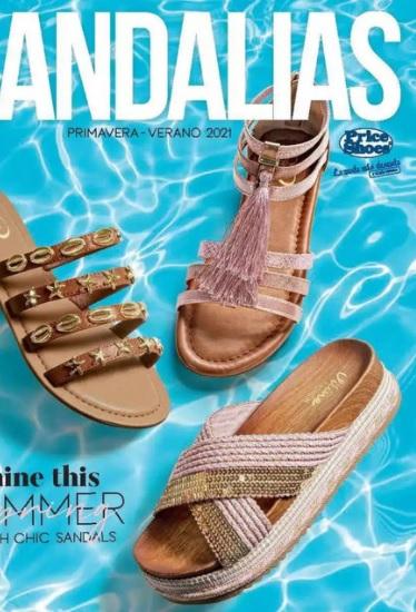 Nuevo Digital online  Price Shoes sandalias 2021 (Completo)