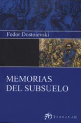 Portada del libro memorias del subsuelo para descargar en pdf gratis