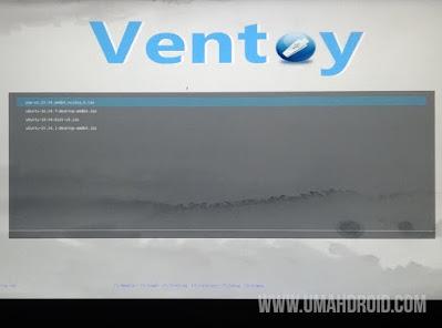 Multiboot USB dengan Ventoy Sukses