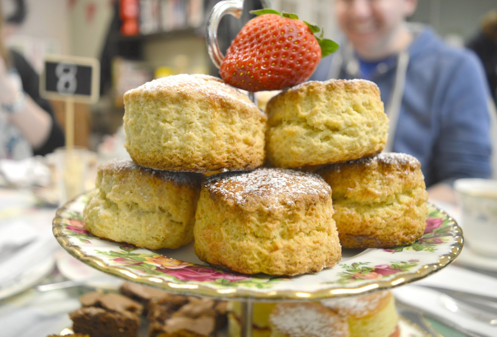Afternoon Tea at VIP Teas, High Spen - Scones