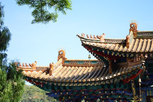 Toits du temple de Kunming