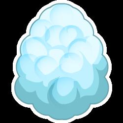 Das Erscheinen des Ei Wolken-Drache
