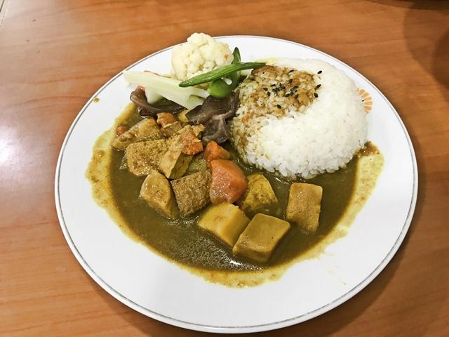 素食咖哩飯