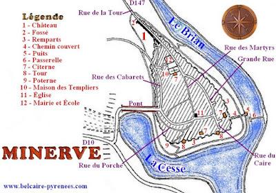 Plano de Minerve, Francia