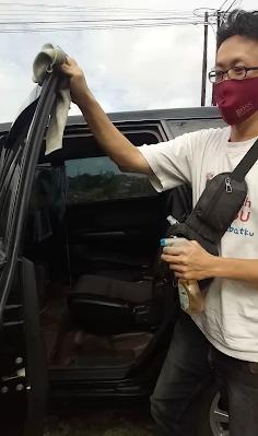 Driver grab car protect