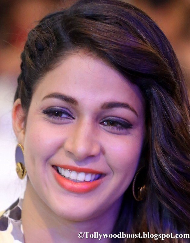 Telugu Actress Lavanya Tripathi Smiling Face Close Up Photos