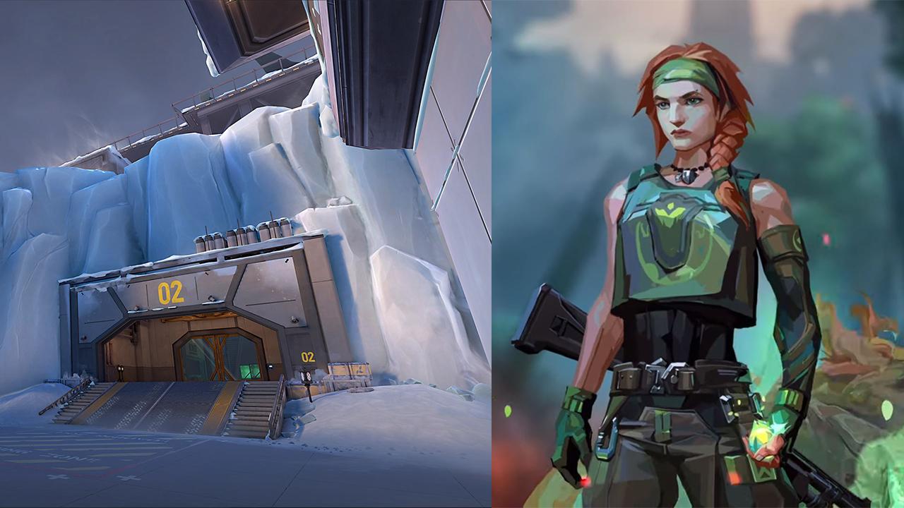 valorant patch mapa icebox agent skye