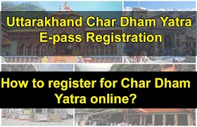 Yatra e-Pass - Badrinath-Kedarnath e pass registration 2020