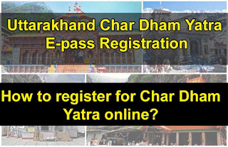 uttarakhand char dham yatra e pass registration