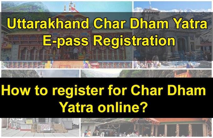 Yatra e-Pass - Badrinath-Kedarnath e pass registration 2020