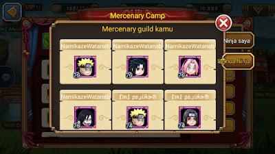 Mercenary Camp Ninja Rebirth_MangtoyPedia