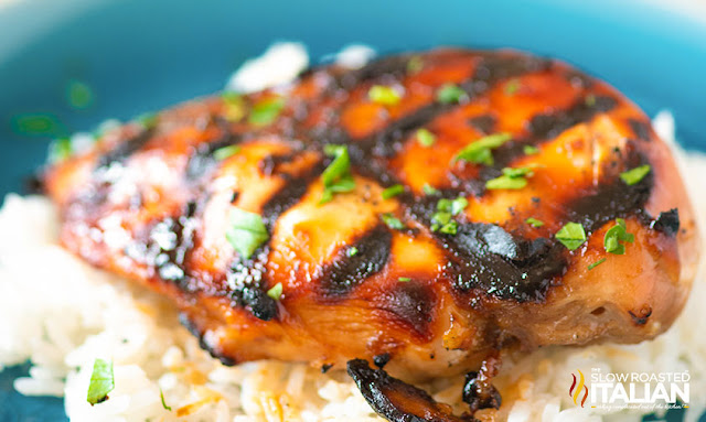 Honey Balsamic Grilled Chicken