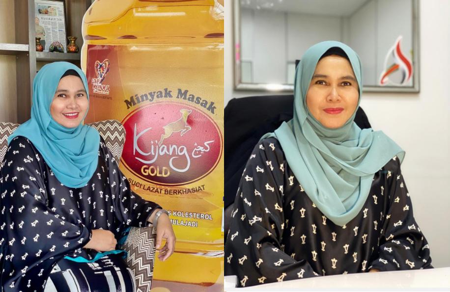 minyak masak keluaran muslim kijang gold